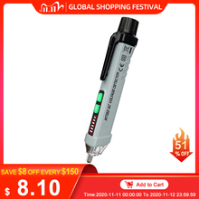 MUSTOOL MT812 Multifunctional AC 12 1000V Non Contact Voltage Tester Pen Live Line Null Live Detector With Light + Sound Alarm