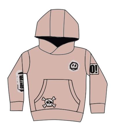 Kids Sweatshirt NX Brand 2021 New Autumn Winter Boys Girls Skull Print Long Sleeve Jacket Baby T Shirts Hoodies Children Clothes 4