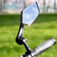 Rear-View-Mirror-Bike Reflector Bicycle Back-Sight Adjustable Easydo Left Wide-Range