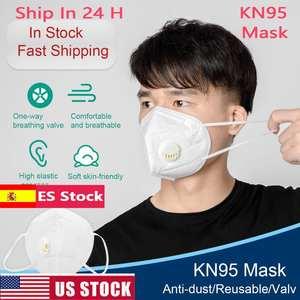 Respirator Masks Ffp3 Washable Cotton Anti-Pollution-Dust KN95 Anti-Ffp2 Kfp4 Muffle