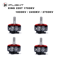 iFlight XING 2207 1700KV / 2450KV / 2750KV 2 6S Brushless Motor for 5/6 inch propeller Frame RC FPV Racing Drone