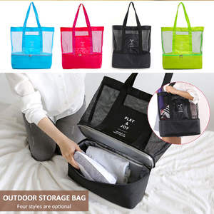 Picnic Bag Cooler Beach-Food Outdoors Insulated Travel Waterproof Refrigeration Practica