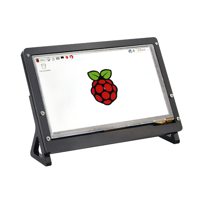 New 7 Inch DSI Connector TFT LCD Display Capacitive Touch Screen Case For Raspberry Pi 4 3B+