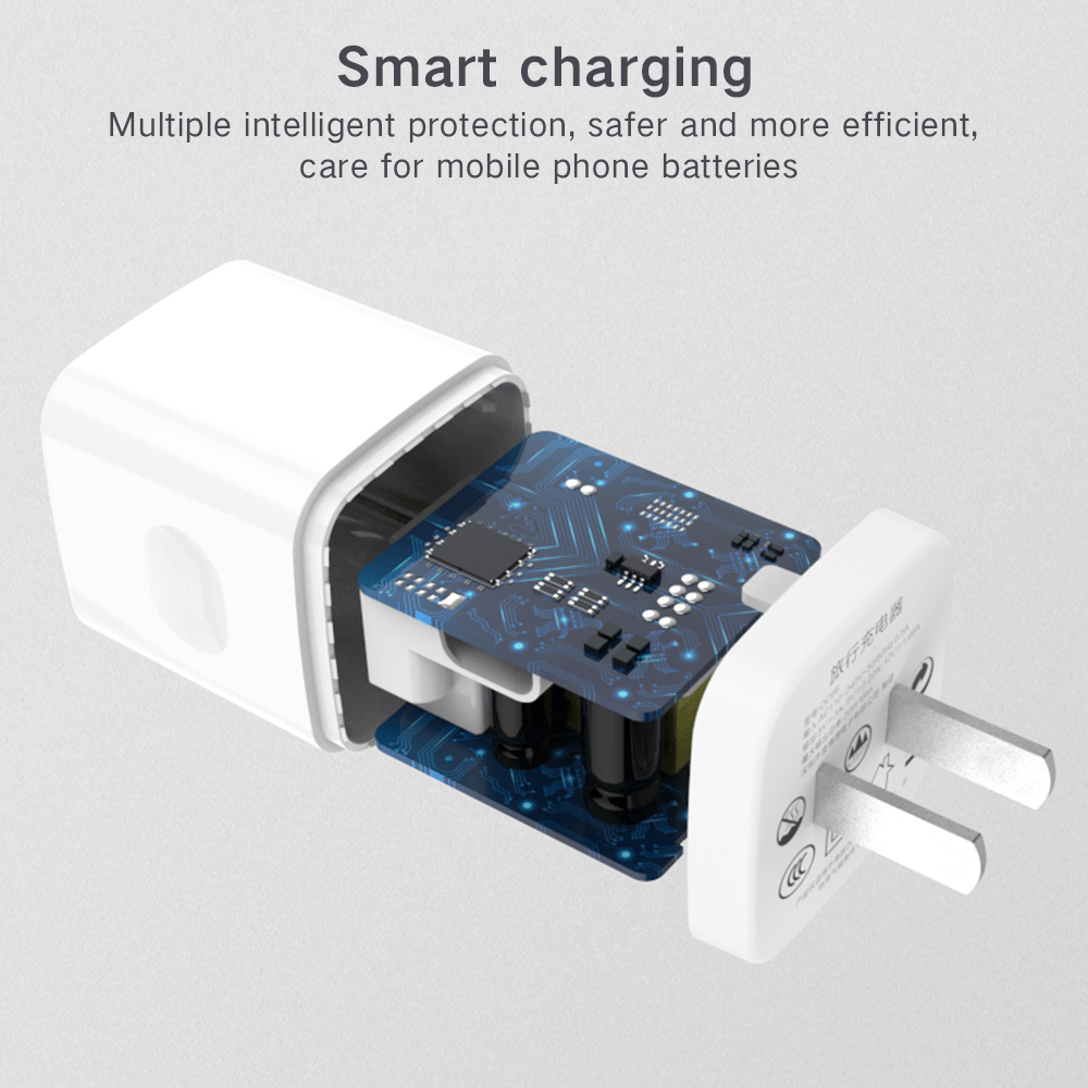 3A Mobile Phone Charger 20W Fast Charging EU US Plug Type C Charger For iPhone 12 Pro Max