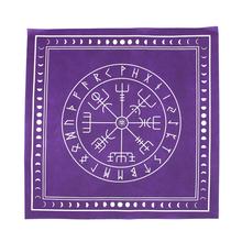 Włóknina gra planszowa łatka Tarot przykrycie na obrus runy wróżbiarstwo ołtarz plac magik gobelin karty do gry strona główna tanie tanio HOUSEEN Other Tkaniny Włókniny