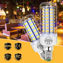 220V GU10 Led Lamp E27 Corn Bulb g9 Led Bulbs E14 Candle Light B22 Bombilla 5730SMD 24 36 48 56 69 72 Lampada Led Lighting 240V e27 led bulb e14 led lamp ac 220v 240v corn candle lamp 24 36 48 56 69 72 leds chandlier lighting for home decoration led lights