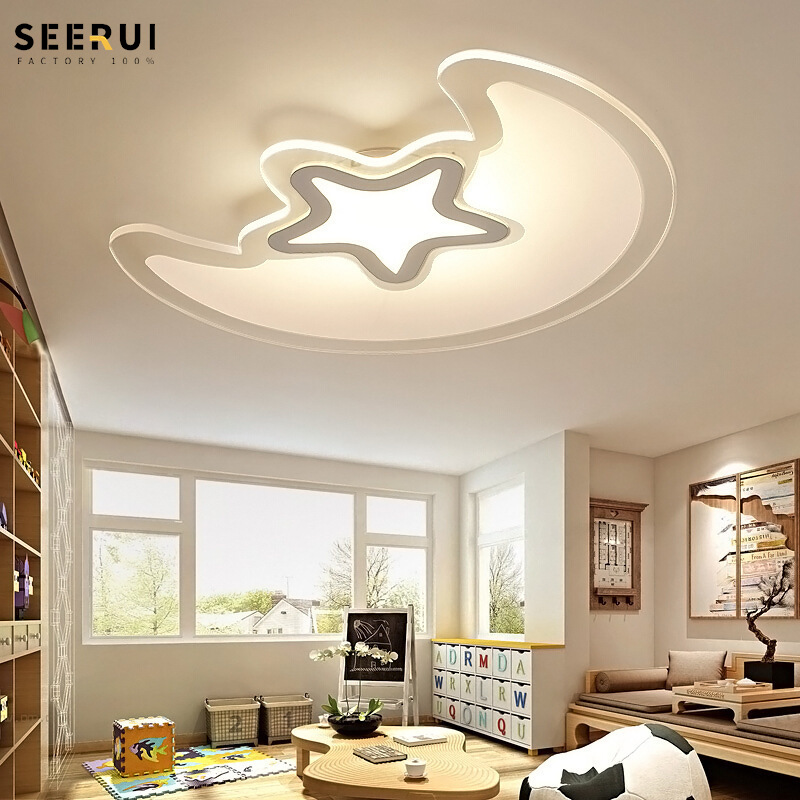 New Style Ultra-Thin Living Room Ceiling Lamp Simple Creative LED Lamp Smart Bedroom Lamp CHILDREN'S Room Cross Border Hot Selli