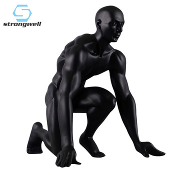 Strongwell Nordic Sports Statue SportsFigures Vintage Home Decor Office Abstract Sculpture for Home Decoration Birthday Gift