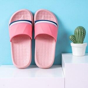 Image 4 - คนรักรองเท้าแตะในร่มฤดูร้อน Antiskid ห้องน้ำชายด้านล่างนุ่มในร่ม Mute รองเท้าแตะผู้ชายรองเท้า