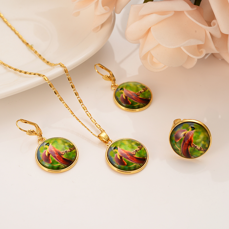 Bangrui Bangle-Set Earrings Necklace Pendants Papua Guinea Wedding Women New PNG Gifts