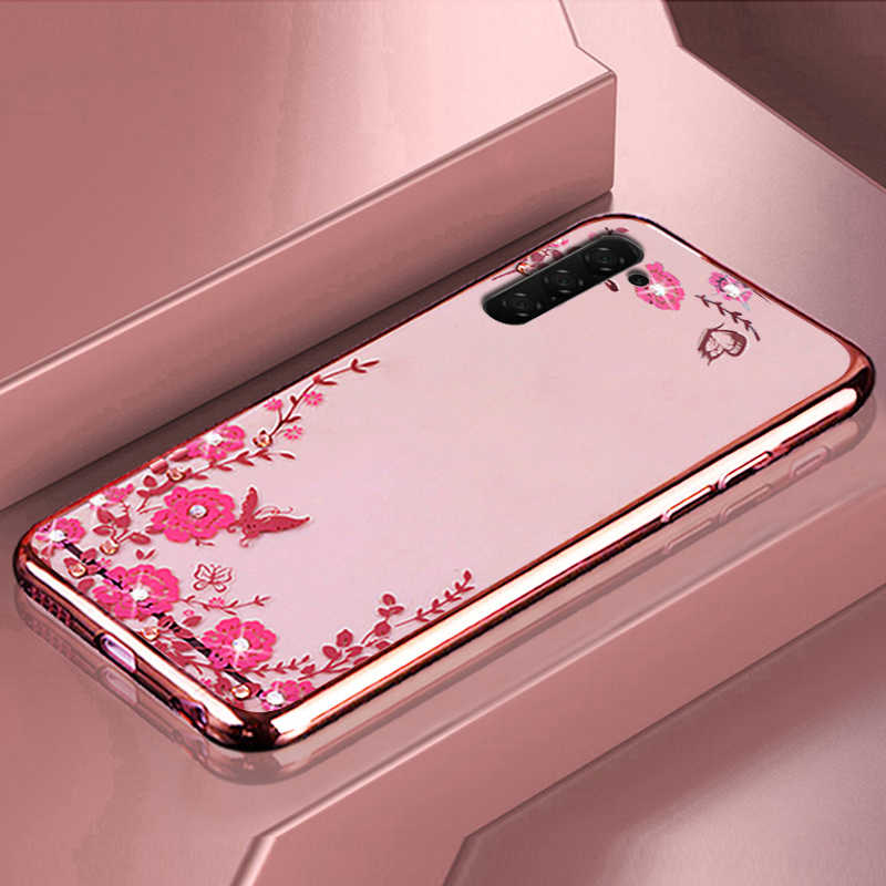 Kim Cương Mềm Mạ Ốp Lưng Dành Cho Samsung Galaxy Samsung Galaxy Note 10 Pro A90 A80 A70 A60 A50 A40 A30 A20 M10 M20 m30 A7 J8 J4 J6 A6 A8 Plus 2018
