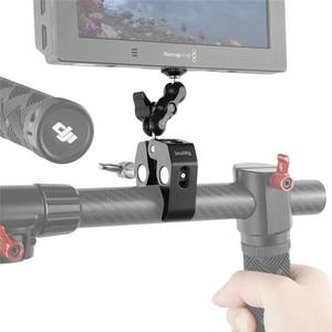 Image 3 - Smallrig Multi Functionele Krab Vormige Klem Met Balhoofd Arm Voor Dji Stabilizer/Freefly Stabilizer/Video C Stand Clamp Kit 2161