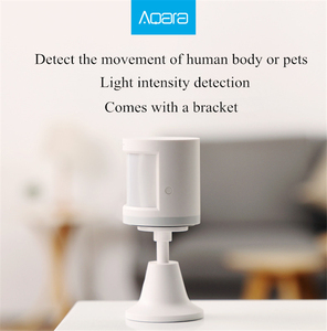 Image 5 - מקורי Aqara תנועה חיישן חכם בית גוף אדם אינדוקציה ZigBee חיבור לשיאו mi Mi אבטחת בית מערכת מכשיר
