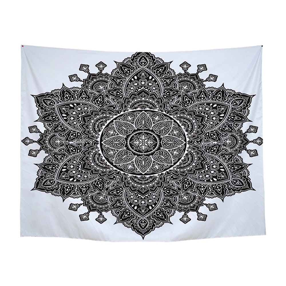 100% Polyester Tapestry Wall Hanging Mandala Bohemian Decor  Tapestry Flower Of Life 150x200cm Indian Blanket