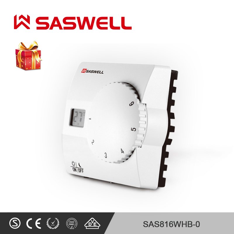 SASWELL Smart Thermostat Temperature Controller Forwater Underfloor Heating Intelligent Thermoregulator