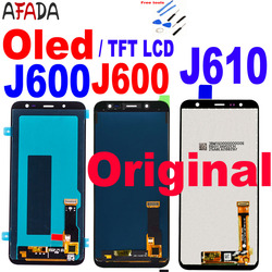 Original For Samsung Galaxy J6+ J6 Plus 2018 J610 SM-J610F LCD Display for J6 2018 J600 J600F J600Y LCD Touch Screen Assembly