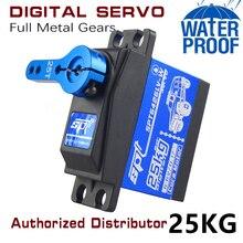 Wasserdicht Metall Getriebe SPT 5425lv 25kg 35kg Große Drehmoment Digitale Kernlosen Servo für RC Auto TRAXXAS Crawler TRX4 baja boot Roboter