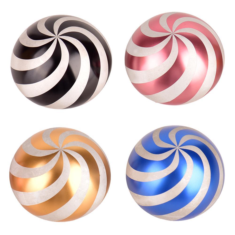 Kinetic Desk Toys Full Desktop Decompression Spiral Gyro Body Optical Illusion Fidget Spinner Ball Full Dynamic Ball Gift