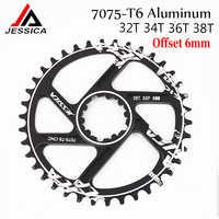 MTB Chainring GXP Bicycle Fixed Gear Crankset Narrow Wide Bike Chain Ring 32T 34T 36T 38T for Sram GXP XX1 X9 XO X01 Crank