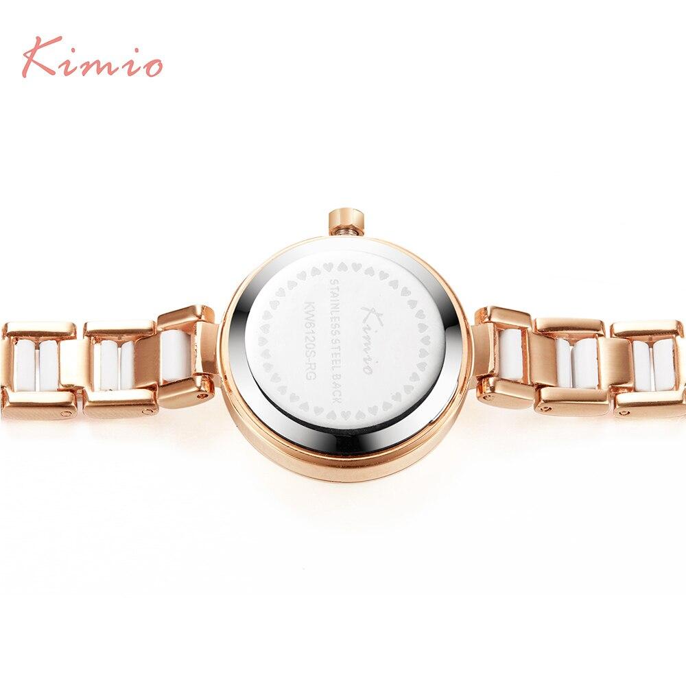 KIMIO Rose Gold Watches Women Fashion Watch 2019 Luxury Brand Quartz Wristwatch Ladies Bracelet Women's Watches For Women Clock