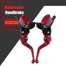 Spot 1 para hamulec motocyklowy sprzęgło hamulec ręczny 7 8 owalny hamulec olejowy sprzęgło Bar M8617 tanie tanio Vecligt Siłownika sprzęgła