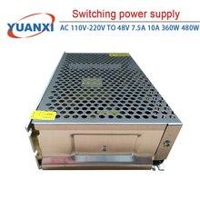 Switching power supply AC 110V-220V TO 48V 7.5A 10A 360W 480W