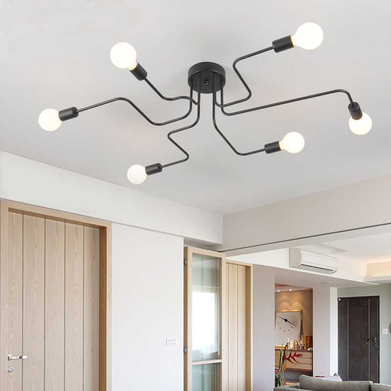 lowest price Creativity Nordic Chandelier Wall Lamp Two Styles Modern Home Children s Room Bedroom Study Cafe Table Pendant Light