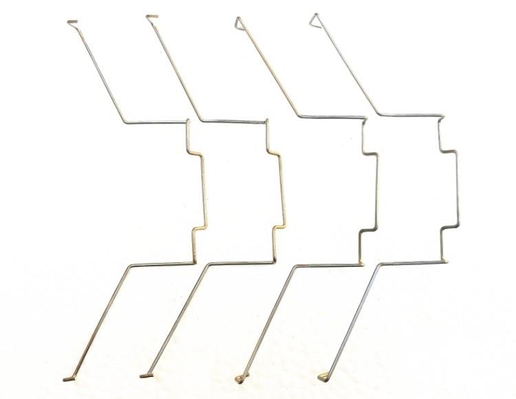 12cm AVC Four Heat Pipe Fan Buckle Heat Pipe Fan Buckle Elastic Steel CPU Fan Hook Bracket