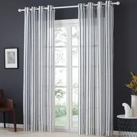 YokiSTG-cortinas transparentes de tul semigasa para dormitorio, cocina, sala de estar, decoración para el hogar, tratamiento para ventanas