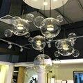 Современный Лофт LED стеклянный подвесной светильник  Скандинавский дизайн  подвесной светильник  Светильники для кухни  столовой  дома  дек...
