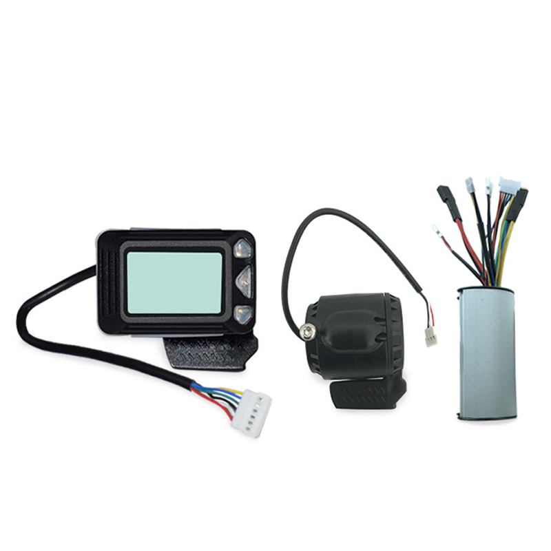 Controller Brake Lcd Display 24V 250W Carbon Fiber Electric Scooter Controller Brushless Motor Electric Bicycle Accessory