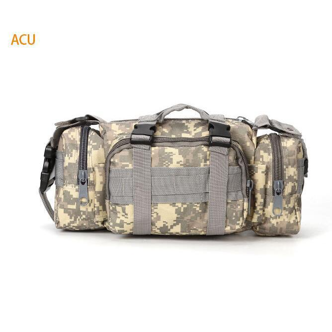 Shoulder Camera Bag Outdoor Single-lens Reflex Camera Photography Waterproof Camouflage Riding Backpack Multi-functional Tactica