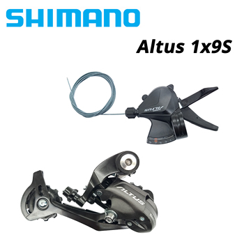 SHIMANO ALTUS 1x9S SL-M2010 M2000 RD-M370 9 S 9v 9 speedmtb rower dźwignia zmiany biegów i przerzutka tylna przełącznik grupa sprzętowa M370 M390 M590 tanie i dobre opinie CN (pochodzenie) 27 ustawień prędkości Przerzutki STOP M2000 M2010 M370