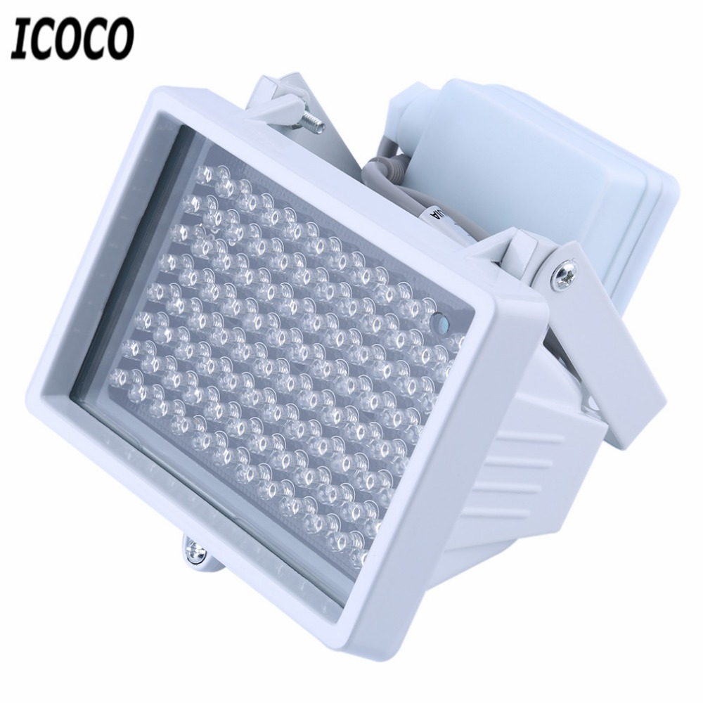 ICOCO DC 12V 96 LED Night Vision Light IR Infrared Light Universal Lamp For CCTV Camera Home Yard Garden Security Lamp