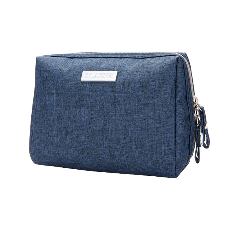 Small Cosmetic Bag Women Necessaire Make Up Bag Travel Waterproof Portable Makeup Bag Toiletry Bag Polyester Zipper Pouch