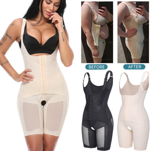 Image 1 - Bodysuit Shapewear Full Body Shaper Waist Trainer Women Slimming Sheath Belly Slim Shapewear Tummy Control Shapers Faja Corset