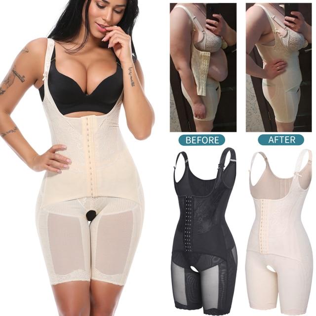 Bodysuit Shapewear Full Body Shaper Waist Trainer Women Slimming Sheath Belly Slim Shapewear Tummy Control Shapers Faja Corset