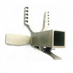 Механическая Рогатка DIY аксессуары 25*25 мм педаль скользящий модуль из нержавеющей стали триггер сильный резиновый ремешок Рогатка