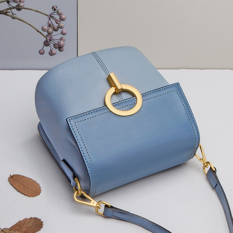 ZOOLER Fashion Genuine Leather Women Bags High Quality Small Flap Woman Shoulder Bag Double Chain Crossbody Messenger Bags CK208