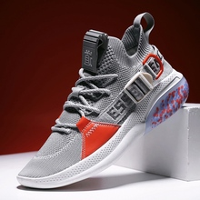 New Trend Running Shoes For Men Black Sport Trainers Mens Breathable Men Walking Jogging Sneakers Non-Slip Man Sock Gym Shoes new genuine leather cow shoes men sport running shoes breathable jogging walking mens trainers walking chaussures hombre femme