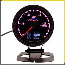 Racing Gauge GReddi Multi D/A LCD Digital Display Vacuum Car 2.5 Inch 62mm 7 Color in 1