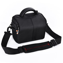 цена на fosoto Camera Bag Fashion Shoulder Bag Camera Case For Canon Nikon Sony DSLR Lens Pouch Bag Waterproof Photography Photo Bag