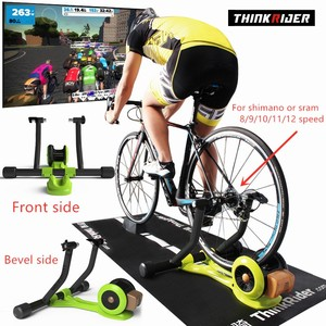 Thinkrider x3 MTB Road for 8/9/10/11/12 speed Bicycle Smart Indoor Cycling Built-in Power Meter Bike Trainer Platform For PowerF(China)