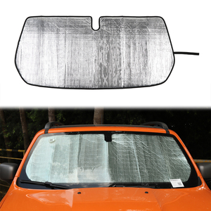 Aluminum Foil Windshield Sunshade Shade Cover for Jeep Renegade 2016+ Insulation Privacy Protection Sun Visor Car Accessories(China)