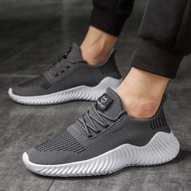 Men High Quality Sneakers Hot Style Shoes Male Breathable Gym Casual Male Footwear Light Big Size Tenis Masculino Adulto Uncategorized Fashion & Designs Men's Fashion
