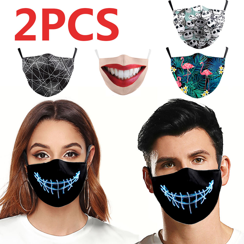 Korean Style Face Maskswashable And Reusable Dust Mask Washable Tapabocas Salud Funny Face Mask Maski Na Twarz Face Shield Men