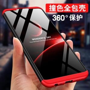 Etui na telefon xiaomi Redmi 8 Redmi 8A uwaga 8 Pro 8T pokrowiec tylny zderzak 360 pełna pokrywa luksusowe twarde PC coque shell funda