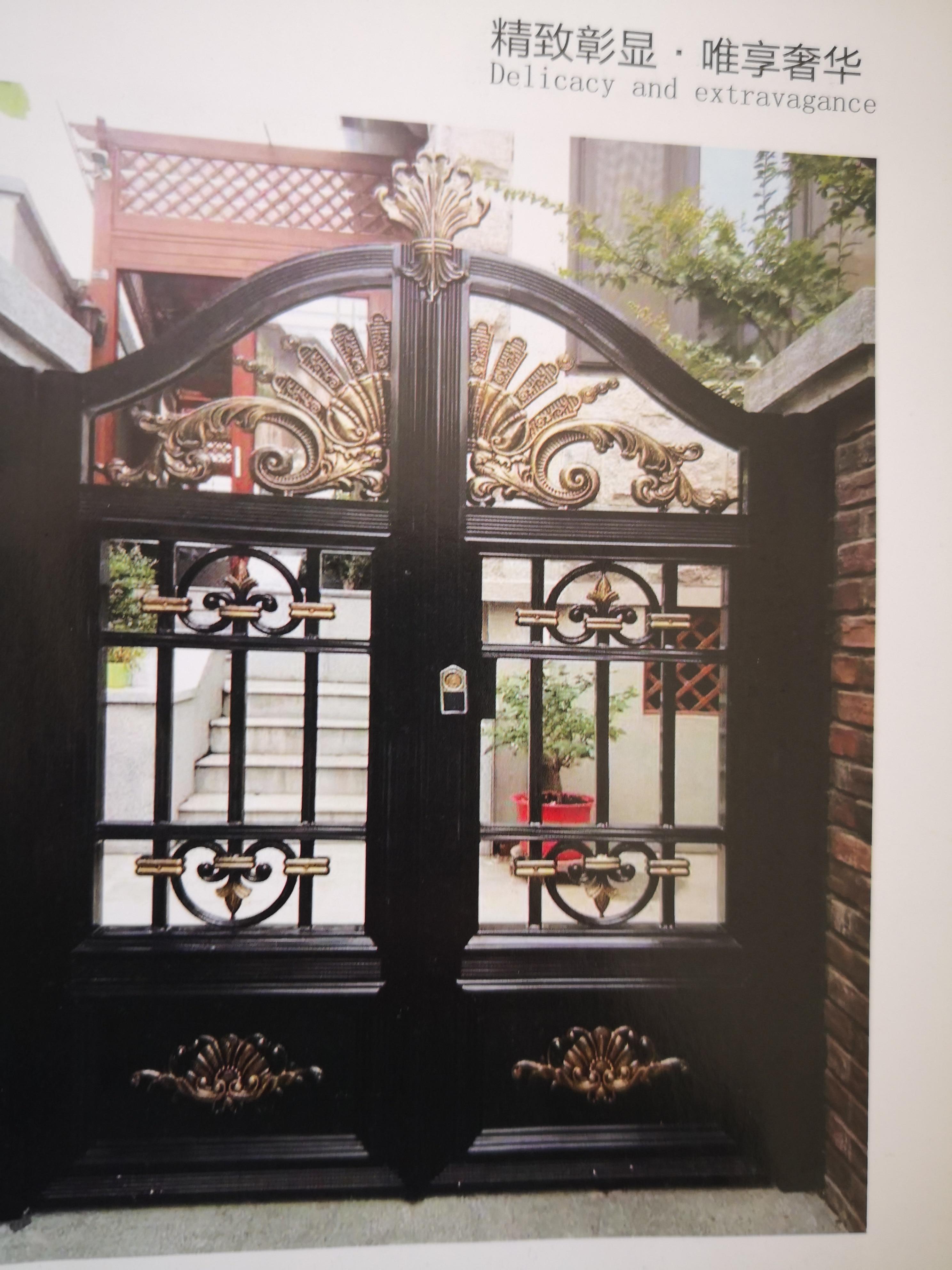Shanghai Hench  Custom USA Australia Home Use Decorative Aluminium Custom Metal Gates Near Me