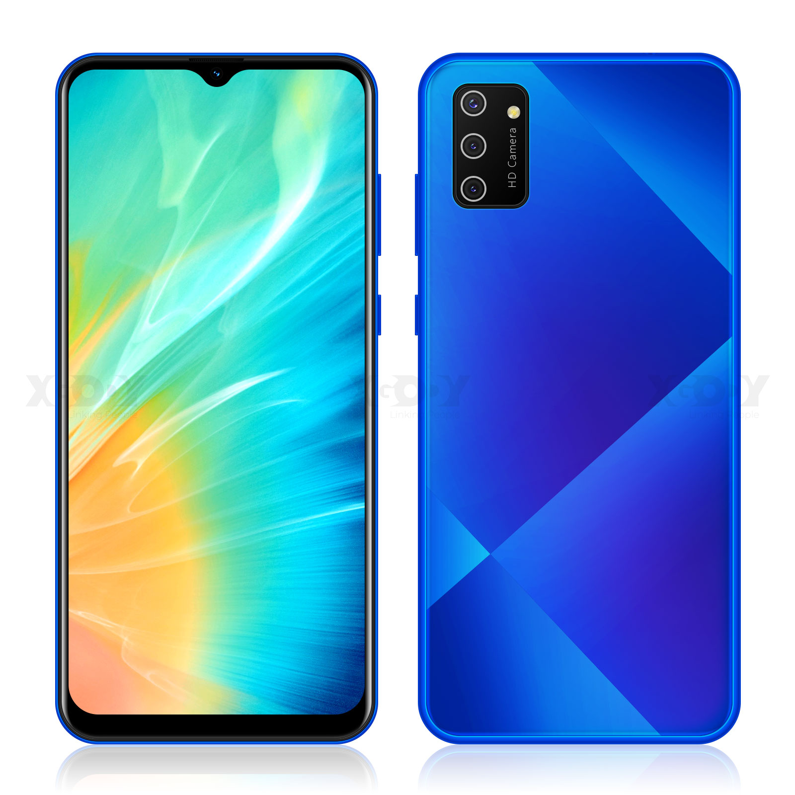 "mobile phones android 9.0 XGODY S20 3G smartphone 1GB RAM 4GB ROM 5MP Camera Dual SIM Unlock WIFI 6.5"" 19:9 Quad Core Cell Phone 2"
