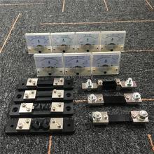 85C1 Analogico Amp Panel Meter Corrente Amperometro Puntatore Meccanico Calibro DC 15A 20A 30A 50A 75A 100A 200A w Esterno resistenza di Shunt